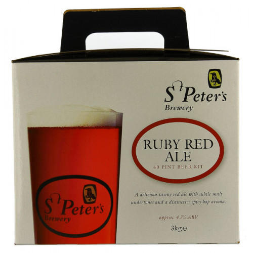 St Peters Ruby Red Home Brew Kit