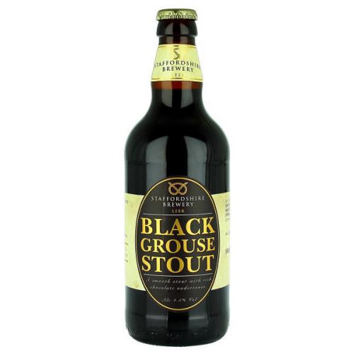 Staffordshire Black Grouse Stout