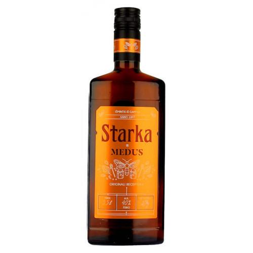 Vilniaus Starka and Honey