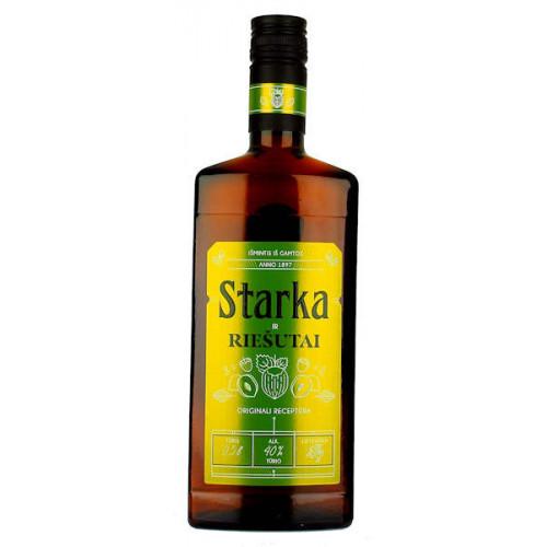 Vilniaus Starka and Nuts