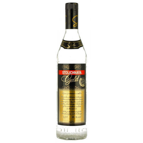 Stolichnaya Gold Russian Vodka