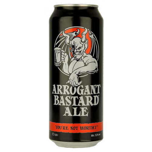 Stone (Berlin) Arrogant Bastard Ale Can