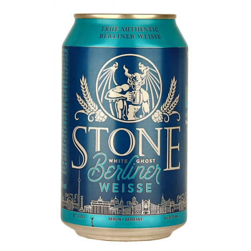 Stone (Berlin) White Ghost Berliner Weisse Can (B/B Date 29/07/19)