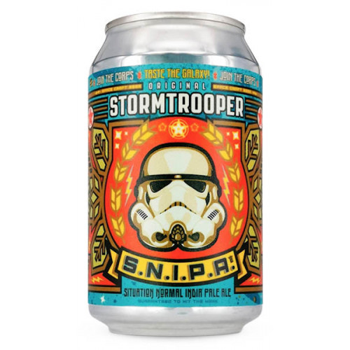 Original Stormtrooper Situation Normal IPA (S.N.I.P.A.) Can
