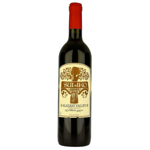 Suliko Alazani Valley Red Medium Sweet Wine