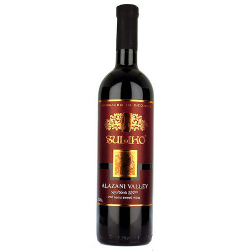 Suliko Alazani Valley Red Semi Sweet Wine
