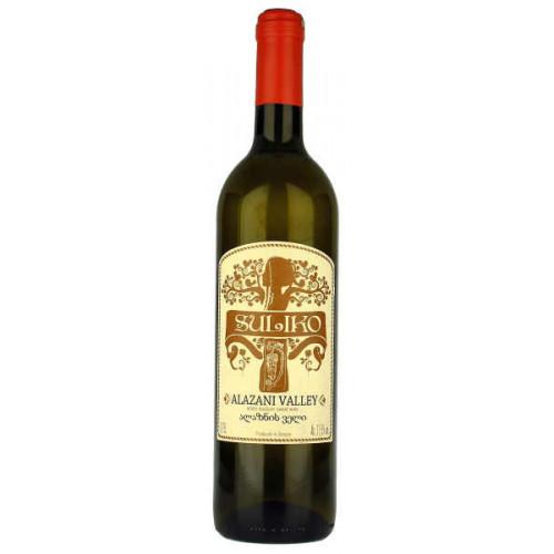 Suliko Alazani Valley White Medium Sweet Wine