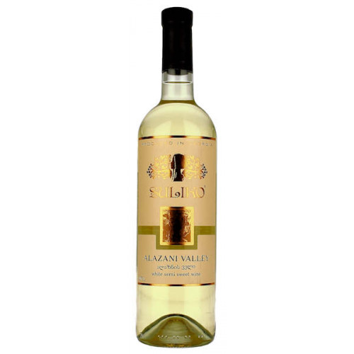 Suliko Alazani Valley White Semi Sweet Wine