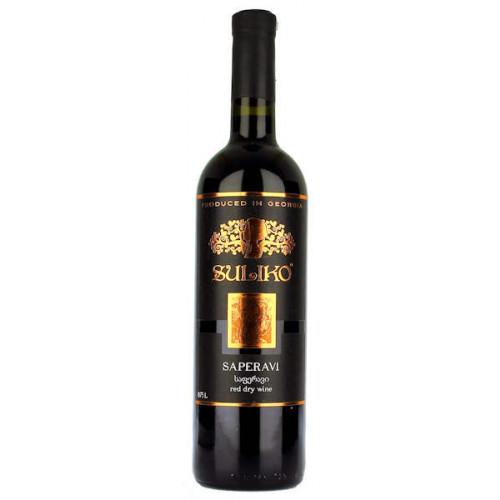 Suliko Saperavi Red Dry Wine