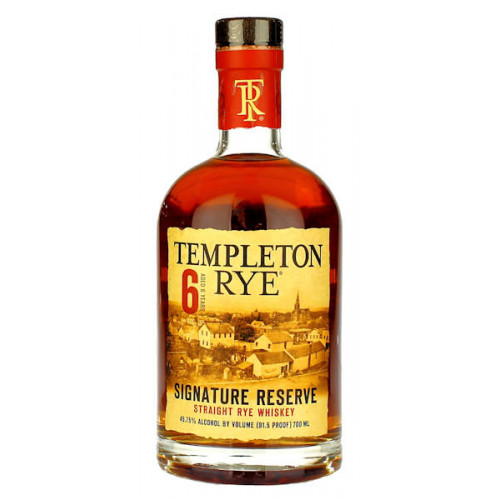 Templeton Rye 6 Year Old Signature Reserve