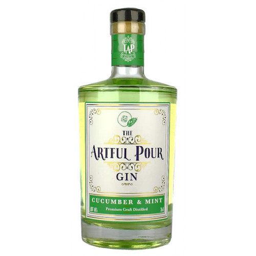 The Artful Pour Cucumber and Mint Gin