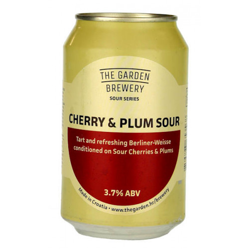 The Garden Cherry and Plum Sour