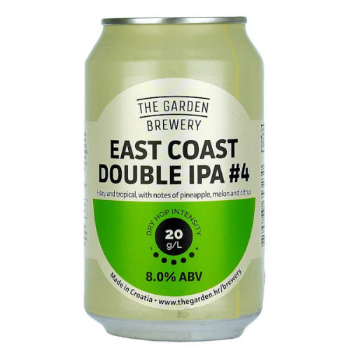 The Garden East Coast Double IPA #4
