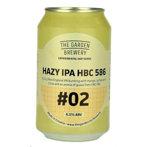 The Garden Hazy IPA HBC 586 #02