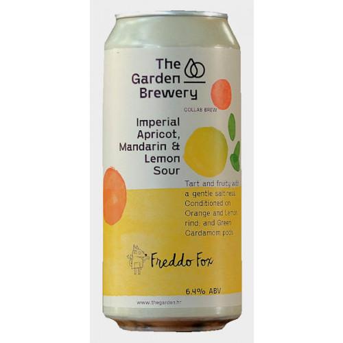 The Garden/Freddo Fox Imperial Apricot Mandarin and Lemon Sour