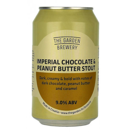 The Garden Imperial Chocolate and Peanut Butter Stout