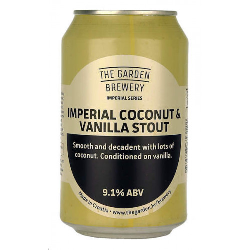 The Garden Imperial Coconut and Vanilla Stout