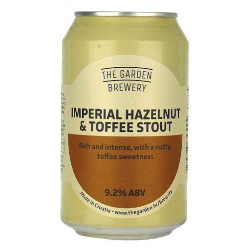 The Garden Imperial Hazelnut and Toffee Stout