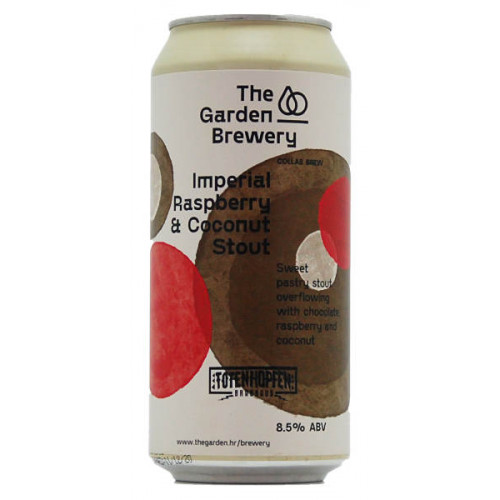 The Garden/Totenhopfen Imperial Raspberry & Coconut Stout