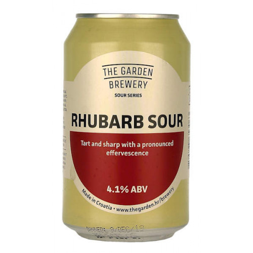 The Garden Rhubarb Sour