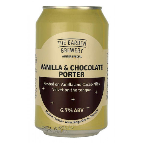 The Garden Vanilla and Chocolate Porter