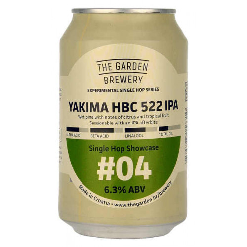 The Garden Yakima HBC 522 IPA #04