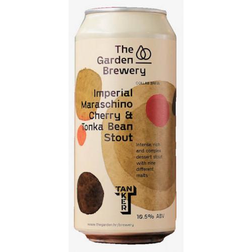 The Garden/Tanker Imperial Maraschino Cherry and Tonka Bean Stout