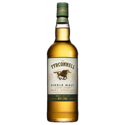 The Tyrconnell Single Malt Double Distilled Irish Whiskey