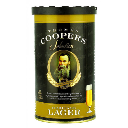 Thomas Coopers Heritage Lager Home Brew Kit
