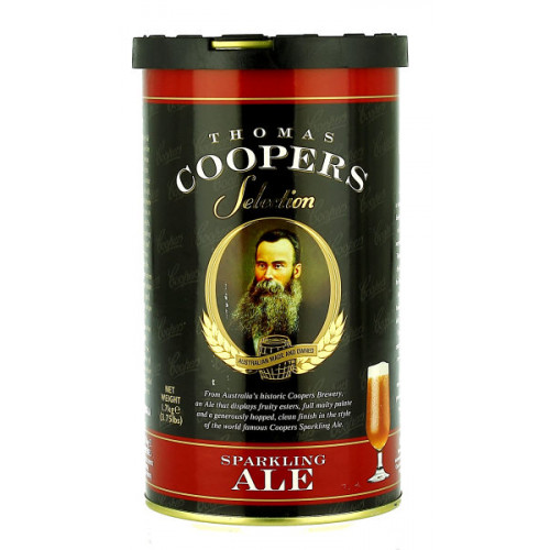 Thomas Coopers Sparkling Ale Home Brew Kit