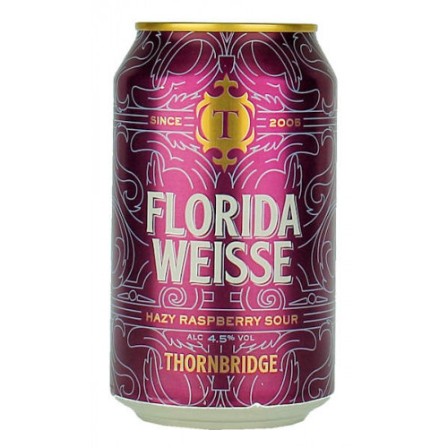 Thornbridge Florida Weisse 330ml Can