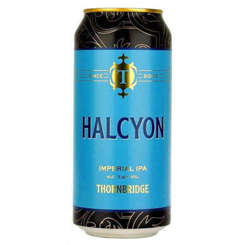 Thornbridge Halcyon Imperial IPA 440ml Can