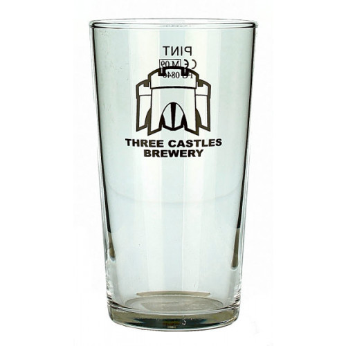 Three Castles Glass (Pint)