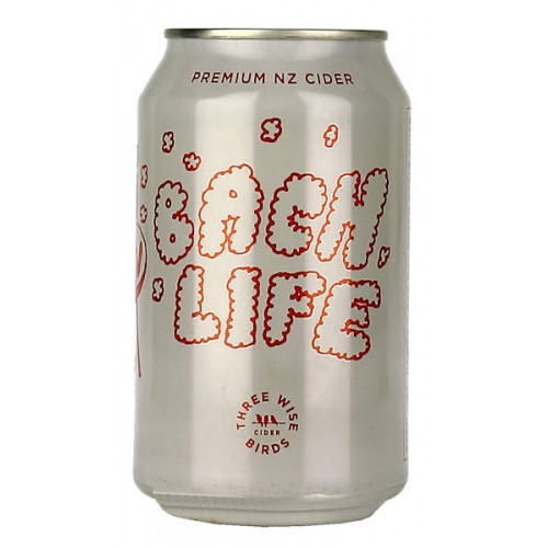 Three Wise Birds Bach Life Cider Can