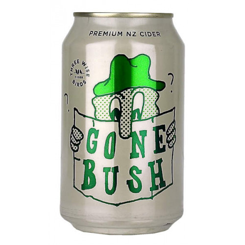 Three Wise Birds Gone Bush Cider Can