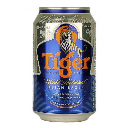 Tiger 330ml Can