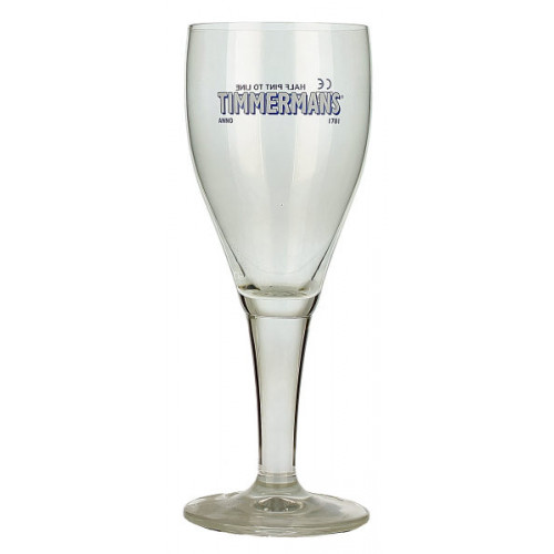 Timmermans Goblet Glass (Half Pint)