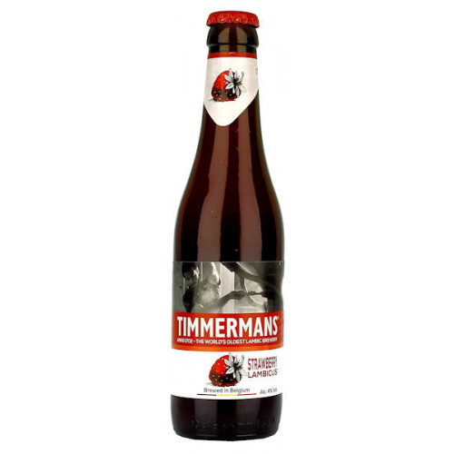 Timmermans Strawberry 330ml