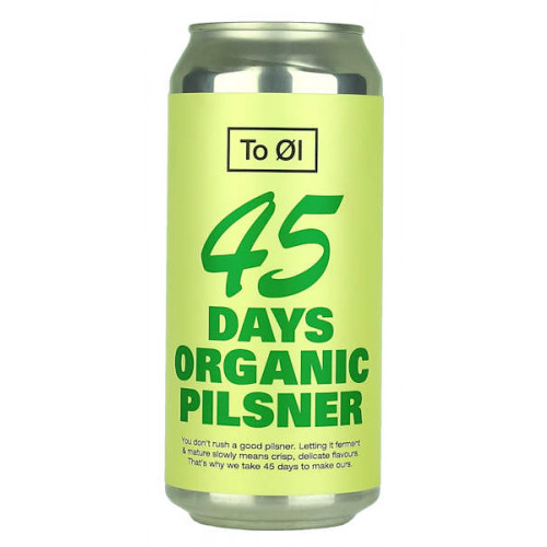 To Ol 45 Days Organic Pilsner Can