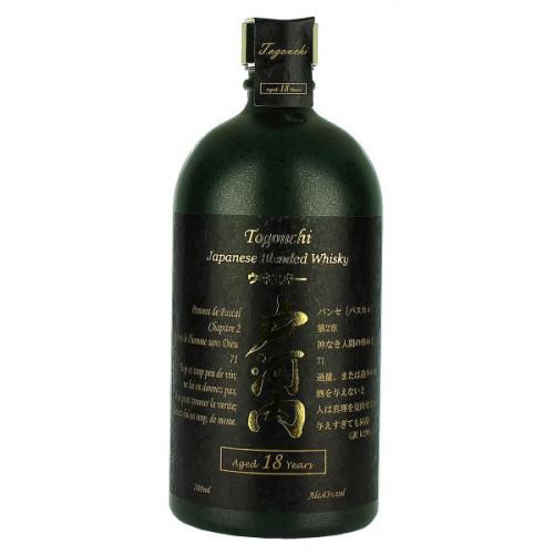 Togouchi Japanese Blended Whisky Aged 18 Years