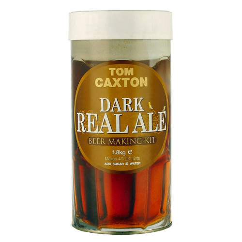 Tom Caxton Dark Real Ale Home Brew Kit