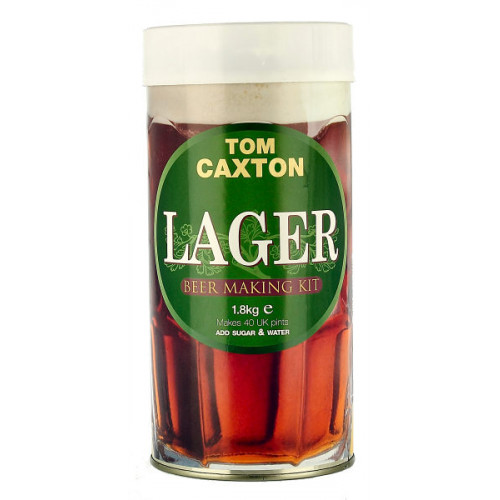 Tom Caxton Lager Home Brew Kit