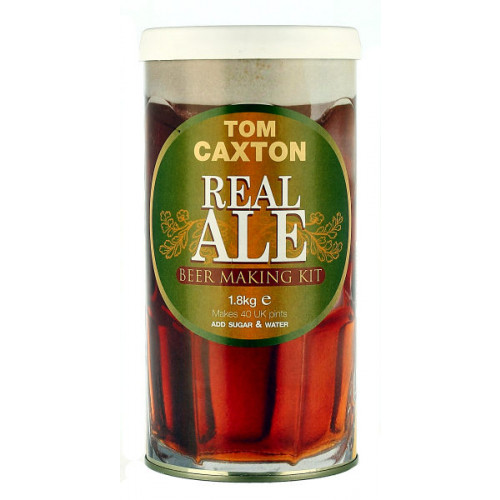 Tom Caxton Real Ale Home Brew Kit