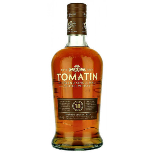 Tomatin Single Malt Aged 18  Years