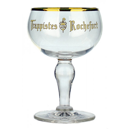 Trappistes Rochefort Chalice Glass
