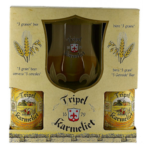 Triple Karmeliet Gift Pack (4x33cl + 1 Glass)