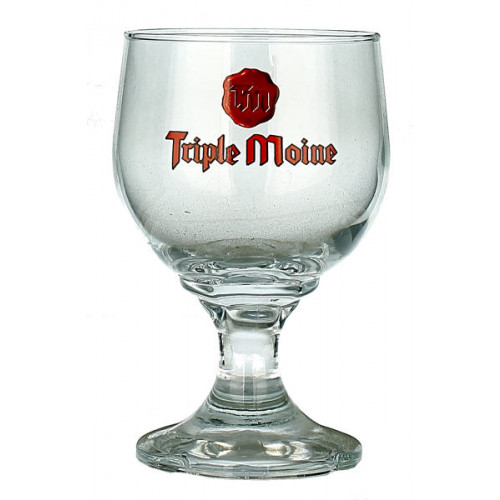 Triple Moine Chalice Glass