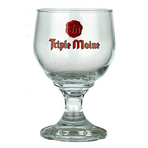 Triple Moine Chalice Glass