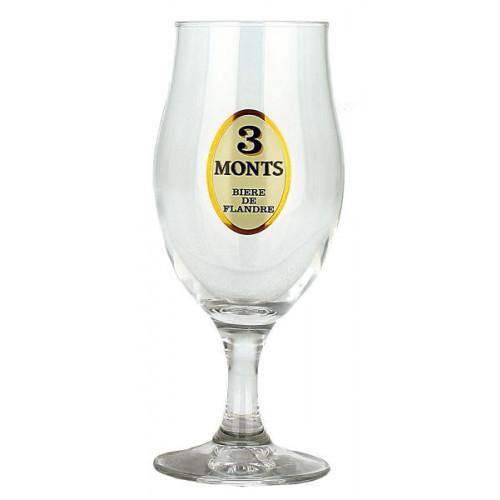 Trois Monts Goblet Glass