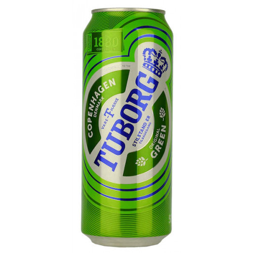 Tuborg Green Label Can